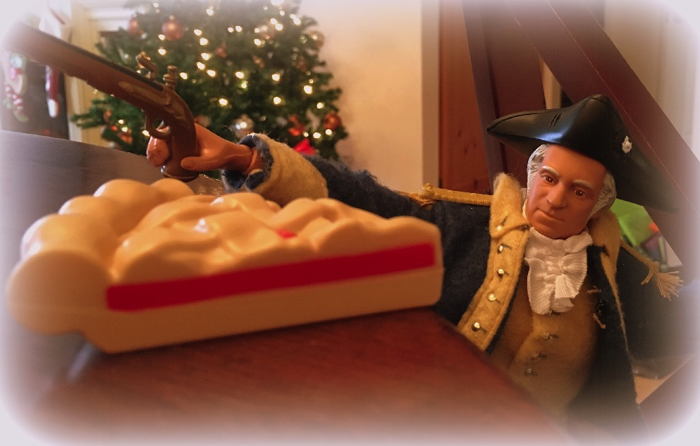 George Washington's Attack on Christmas Pies
