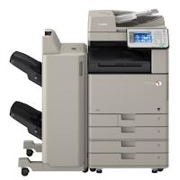 Canon iR-ADV C3330 arrive avec un bac à documents intégré qui peut être utilisé pour conserver deux types de documents différents
