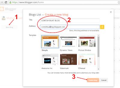 Buat Website Blogger Gratis Dalam 5 Menit - www.aciltips.com