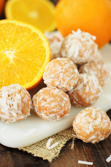 25+ All-Time Favorite No-Bake Desserts: Orange-Coconut Balls Image