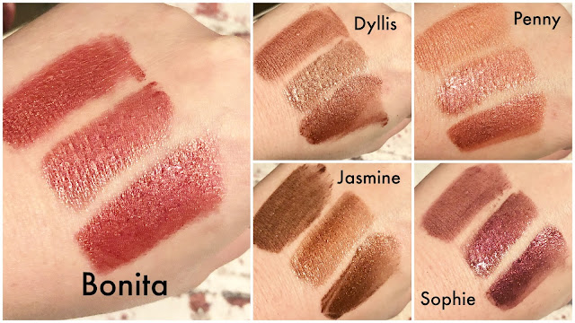 touch in SOL METALLIST Liquid Foil Lipstick Duo Swatches