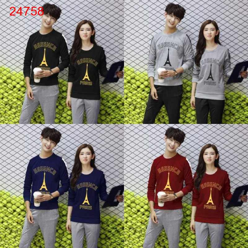 Jual Sweater Couple Sweater Essence Neo - 24758