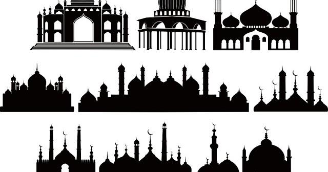 Kumpulan Gambar Gambar Masjid Format Cdr Paling Bagus