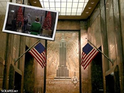 Empire State Building no filme Elf
