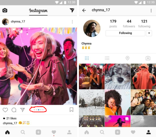 Instagram Multiple Image/Video New Feature