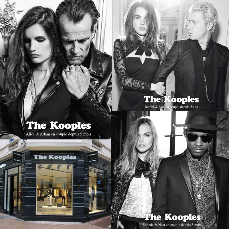 69083571d68 The Kooples Latest Ad Campaign: Über Cool Couples