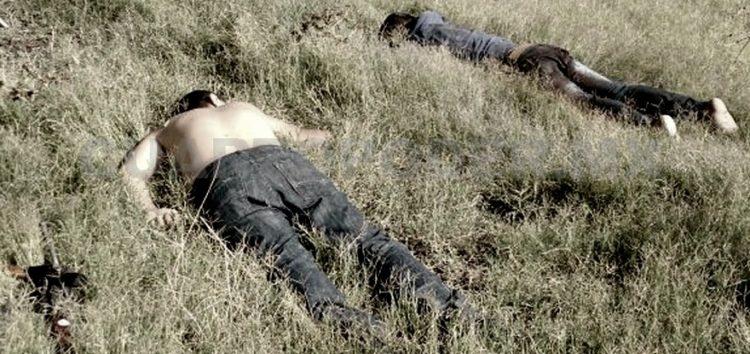"""Dejan a dos integrantes lideres de """"La Linea"""" ejecutados tras enfrentamiento en Tomochi"""