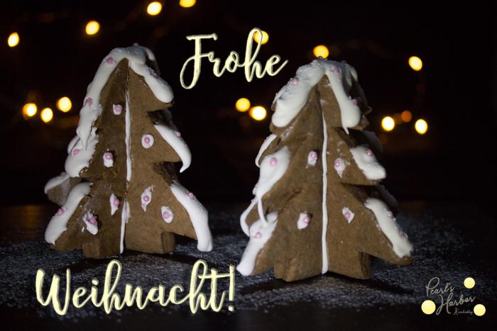 Weihnachtsbäume aus Lebkuchen von Pearl's Harbor