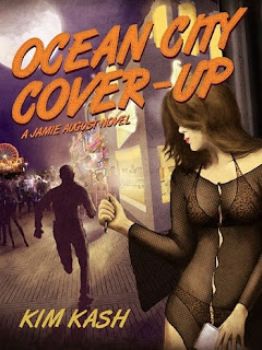 ocean city cover-up, kim kash, mystery novel, ocean city book, ocean city fiction