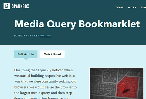 Media-query-bookmarklet