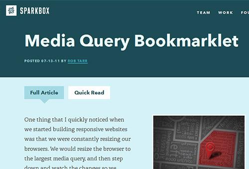 Media-query-bookmarklet