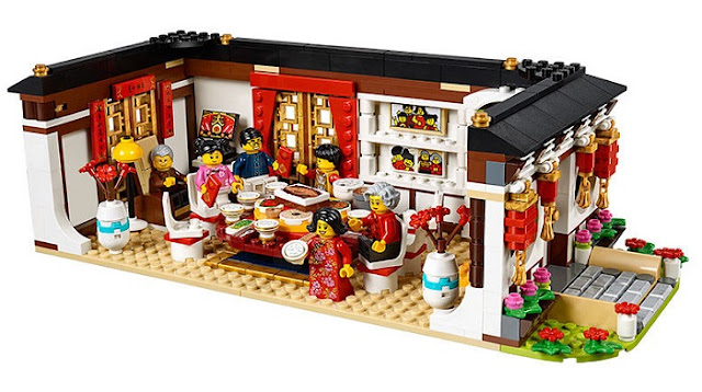 Chinese New Year Eve Dinner LEGO Sets