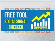 Tool Gratis: Social Signal Checker. Hitung Berapa Banyak URL Website Dibagikan di Media Sosial