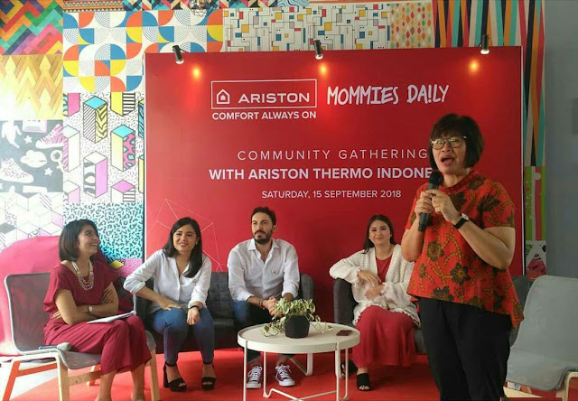 community gathering mommies daily with ariston thermo indonesia
