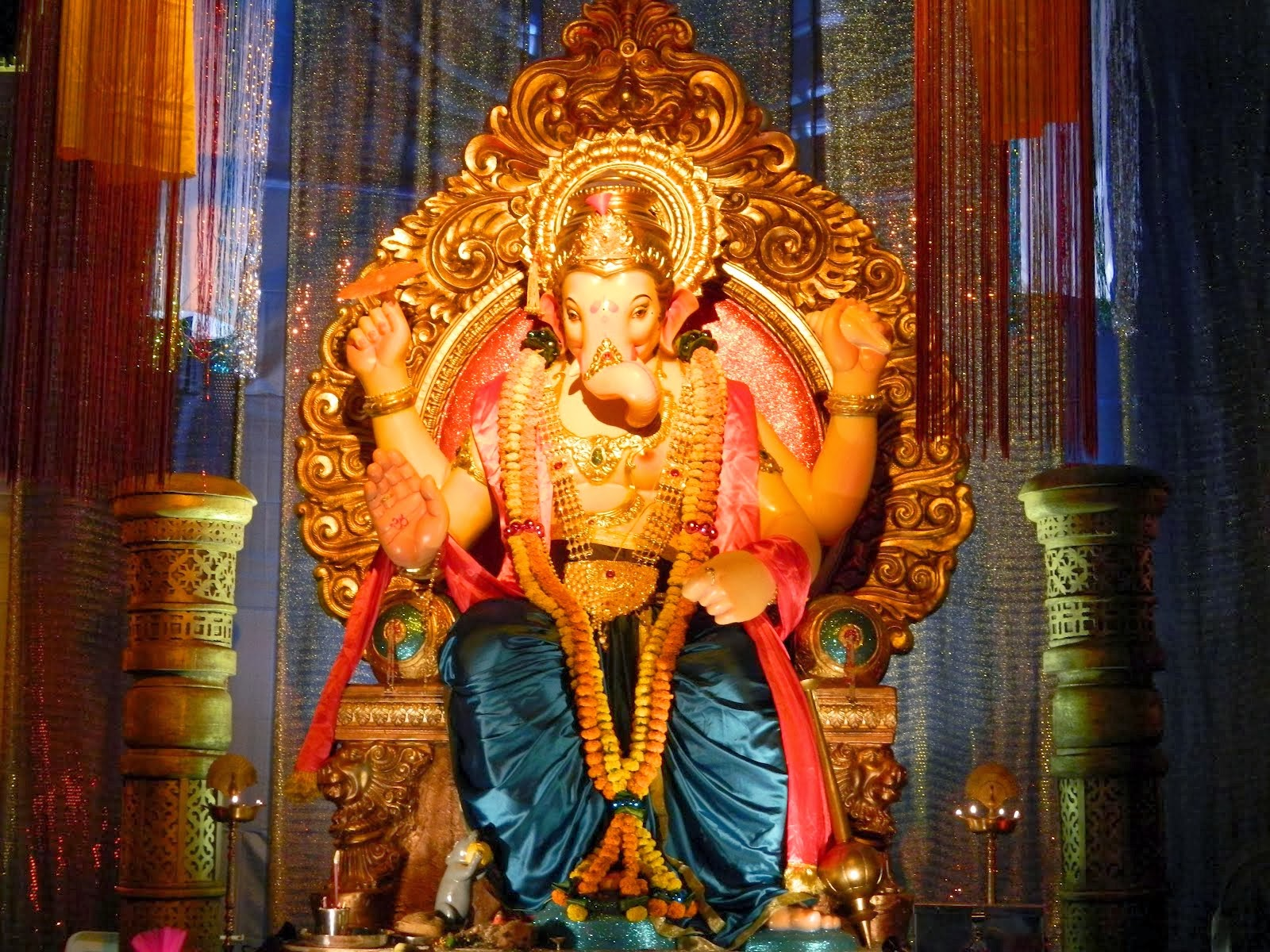 Lord Ganesha Latest Hd Images Free Downloads: Hindu God Wallpapers Download