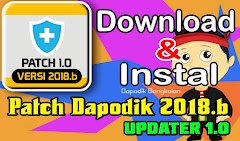 Cara Download dan Instal PATCH dapodik 2018.b Terbaru (Updater Patch 1.0)