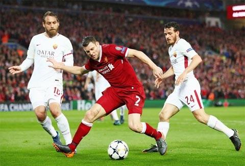 Cầu thủ có phong độ ổn định Milner