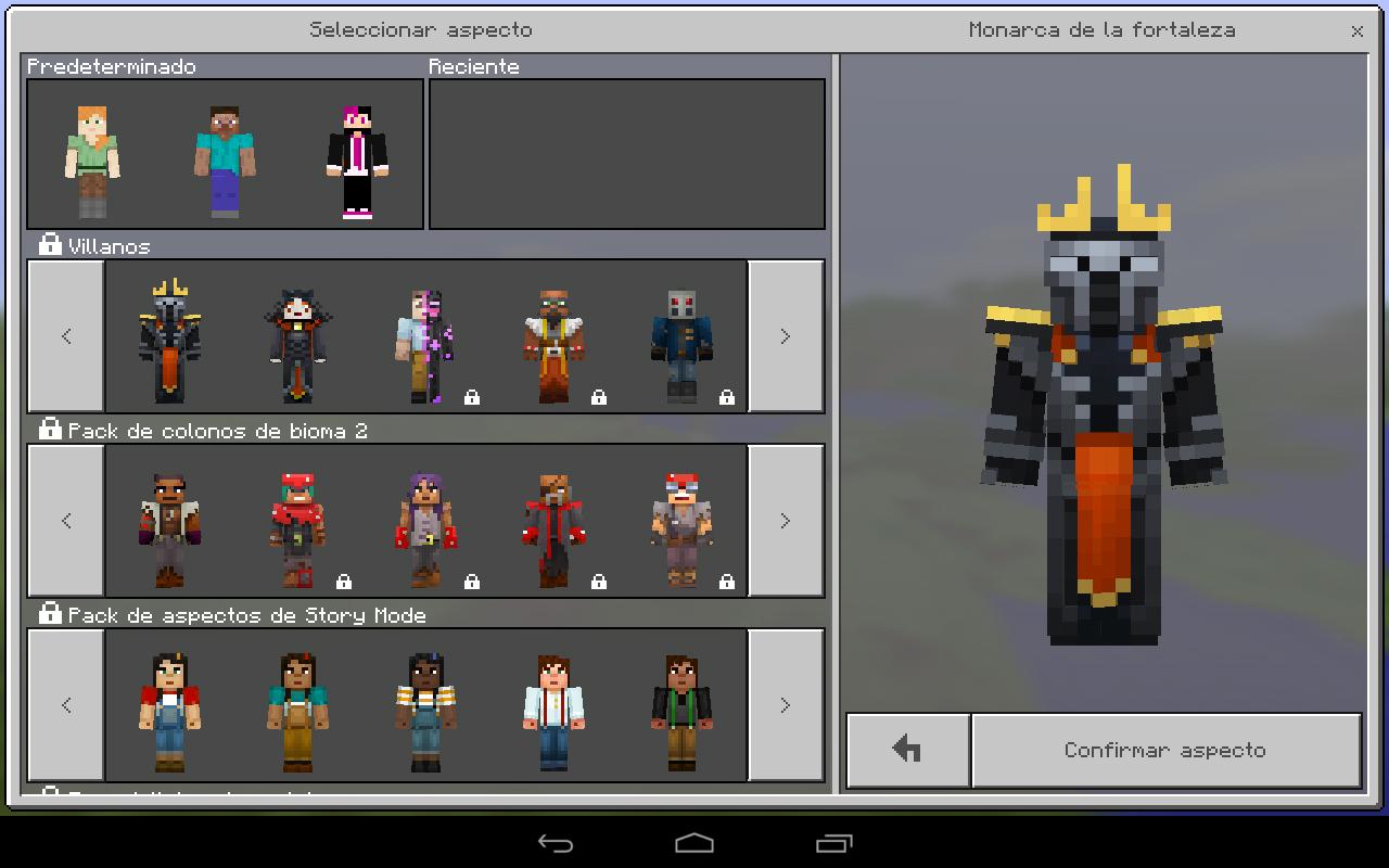 Descargar Minecraft PE Apk Gratis Skin Pack - Descargar skins para minecraft pe uptodown