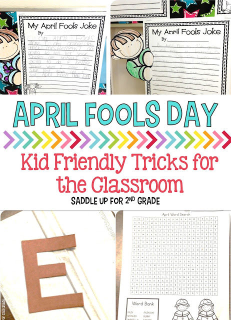 Kids LOVE April Fool's Day! I had so much fun tricking the kids in my classroom. We also did a writing activity to go along with all the fun we were having.