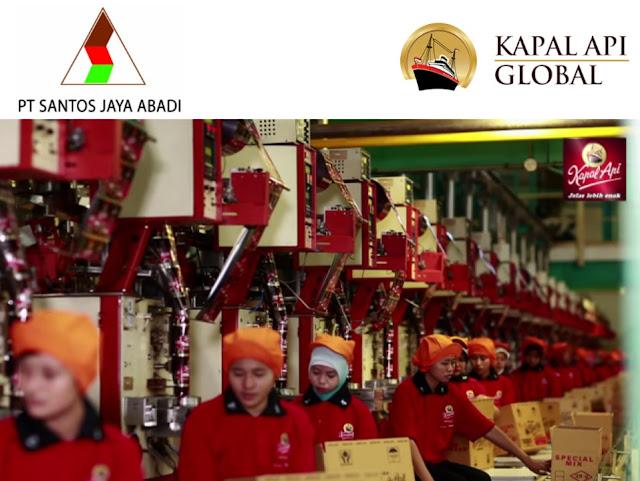 Hasil gambar untuk PT Santos Jaya Abadi (Kapal Api Global)
