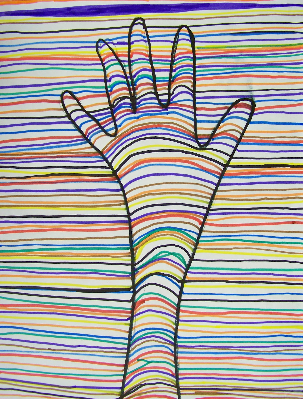 Candice Ashment Art Illusional Delusional Hand Art