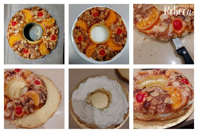 Receta de roscón de Reyes 12