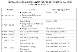 Pengumuman Hasil Seleksi Calon Guru Ke Malaysia Tahap 2