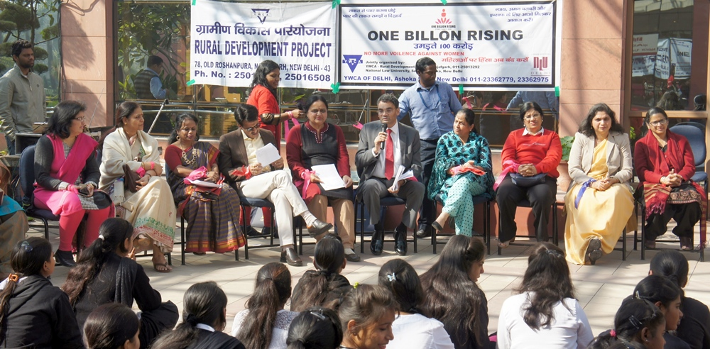 One Billion Rising Programme (OBR) organised at National Law