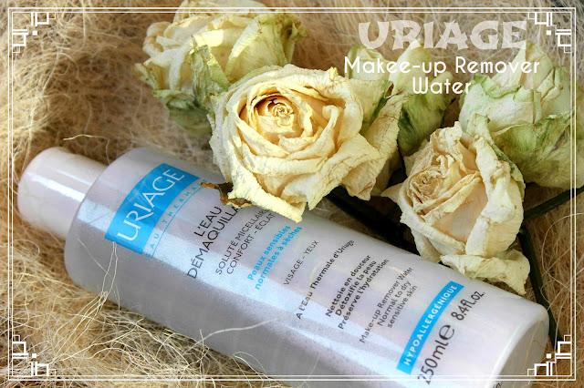 Отзыв: Очищающая вода - мицеллярный раствор для нормальной и сухой кожи от Uriage.