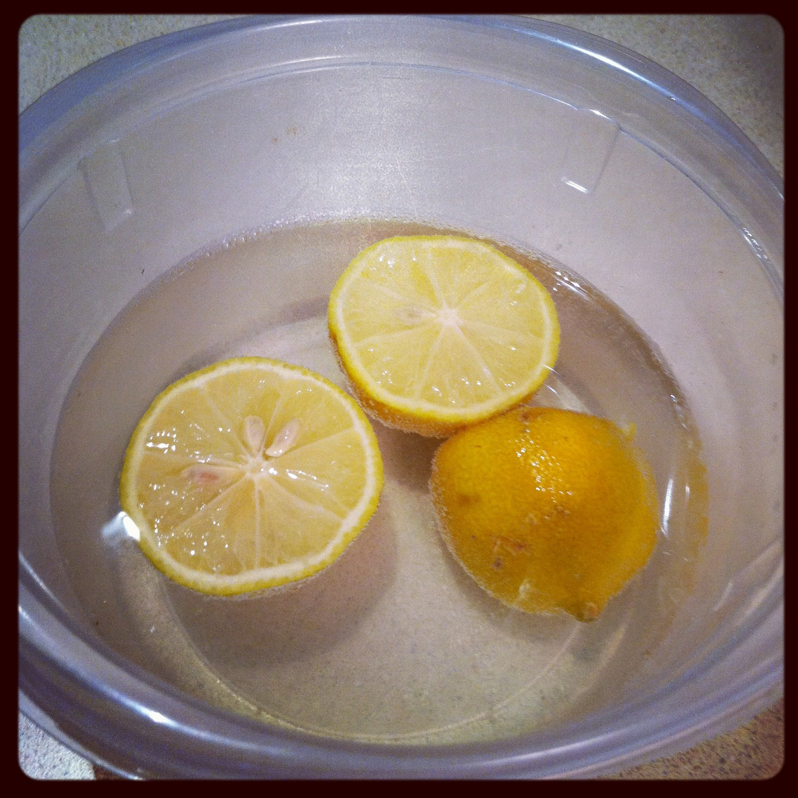 Cleaning A Microwave Oven With Lemon: Quest For Delish: Cleaning Microwave