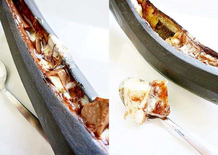 Grillen :: Schoko-Banane vom Grill