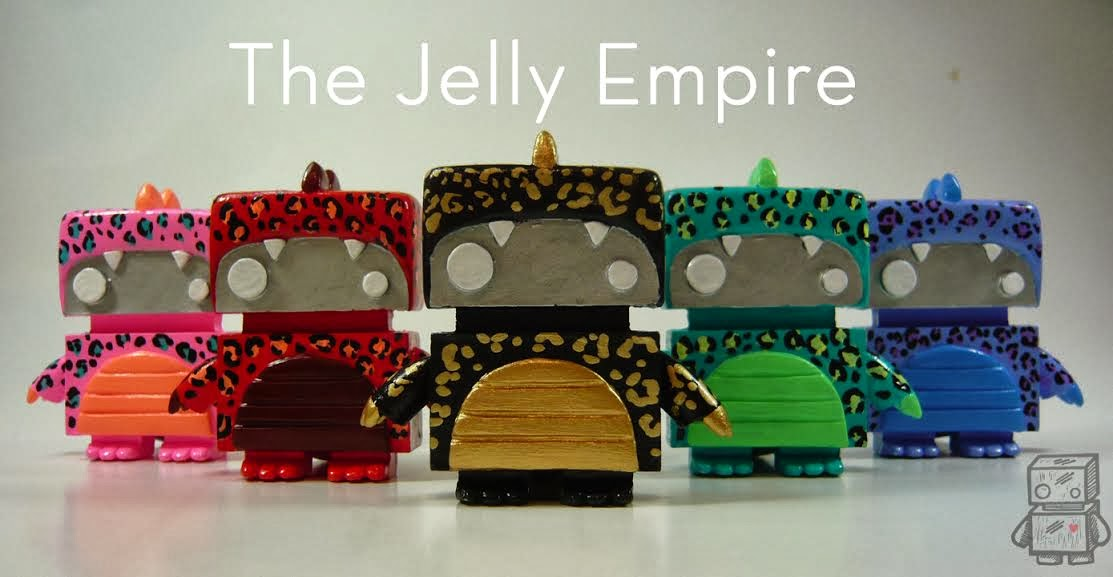 Jellyzillas JellyBot Resin Figures by The Jelly Empire