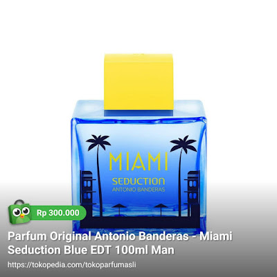 antonio banderas miami seduction blue edt 100ml man