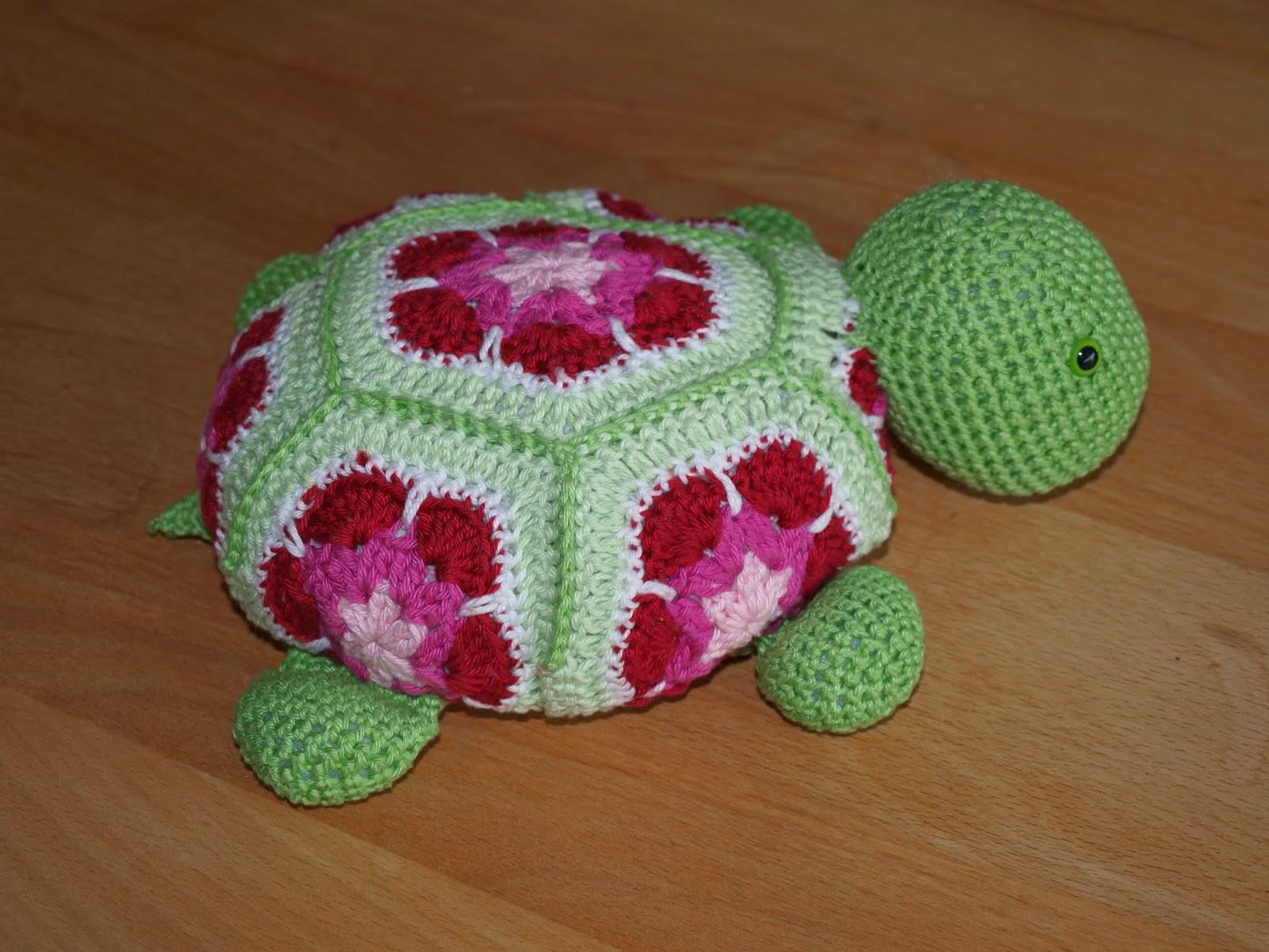 Lieselotjes Handwerk Haakpatronen Schildpadjes