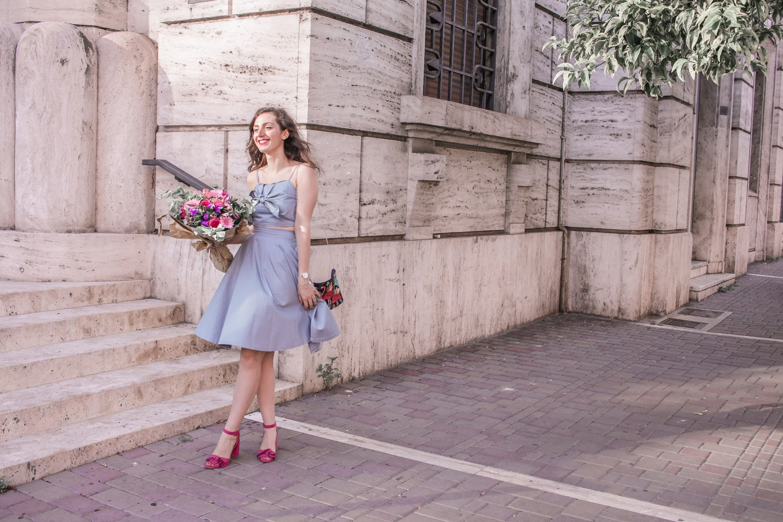 ESTATE in città: il mio LOOK romantico!