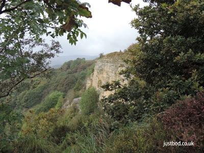 Whitestone or White Mare Cliff