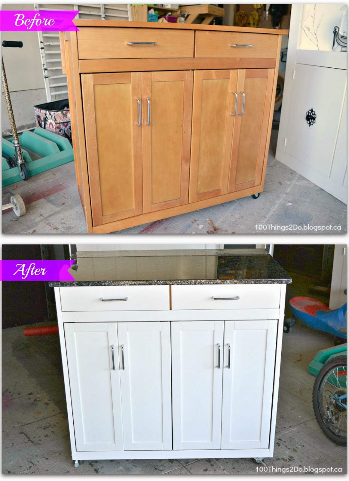 mobile kitchen island units before and after portable kitchen island 100 things 2 do 20645