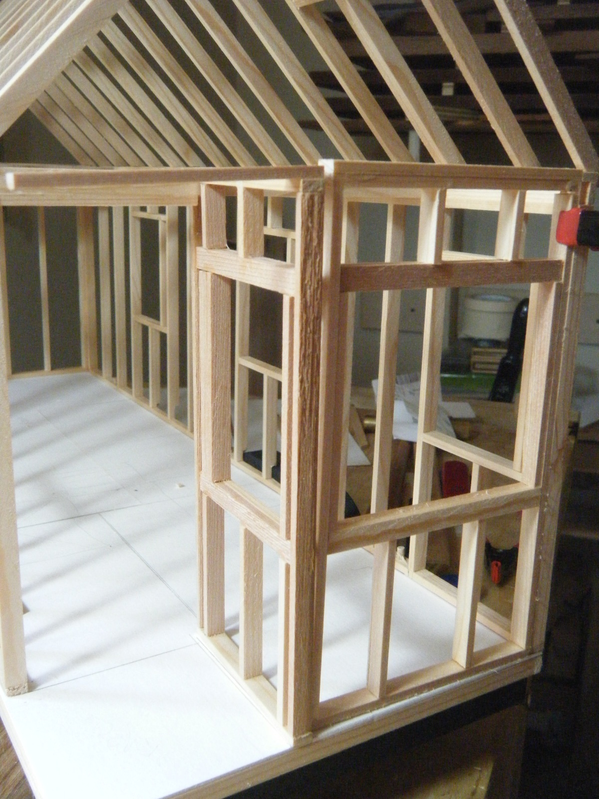Trevor Walsh Handmade More Tiny House Model