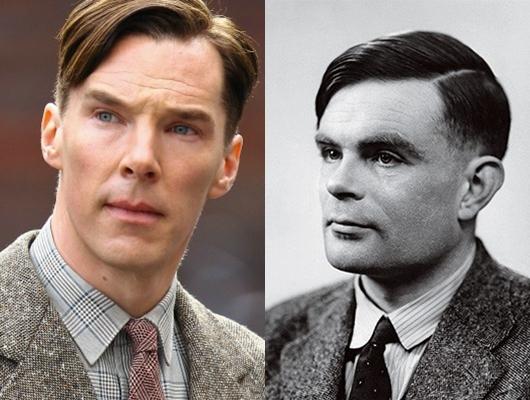 Benedict Cumberbatch e Alan Turing