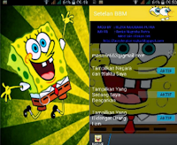 BBM MOD Spongebob for Gingerbread