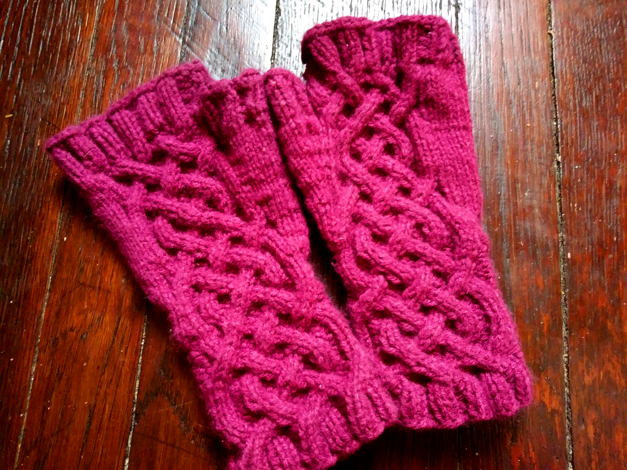 Fingerless Gloves Knitting Pattern Circular Needles Amazing Ideas
