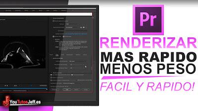 como renderizar mas rapido, como renderizar en premiere, como renderizar mas rapido con premiere, premiere pro, trucos premiere, edicion premiere