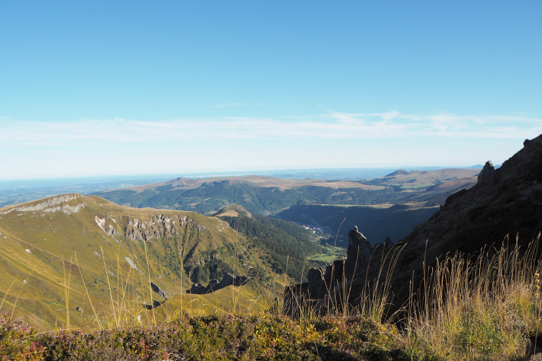 Panorama depuis le Puy de Sancy