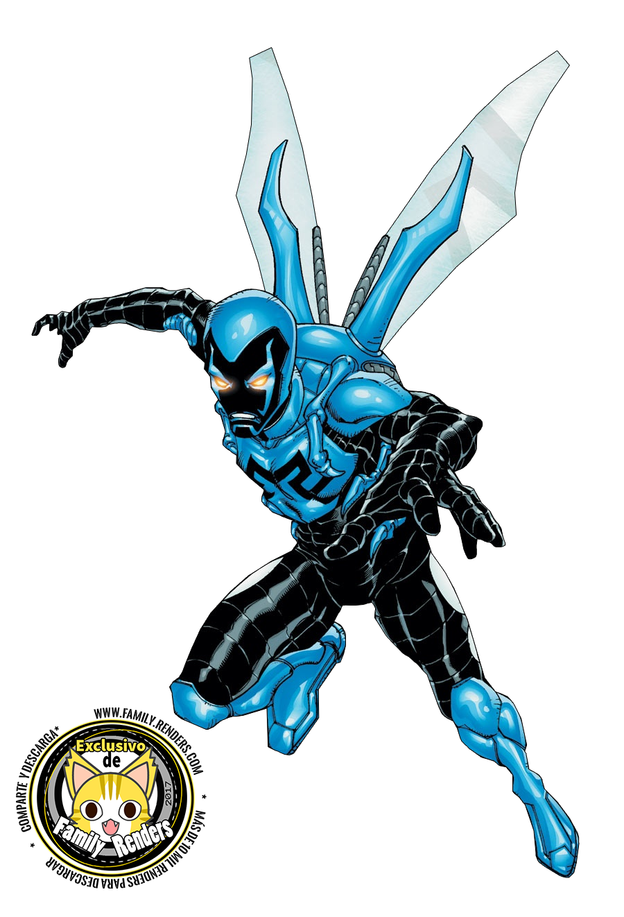 RENDER Blue Beetle