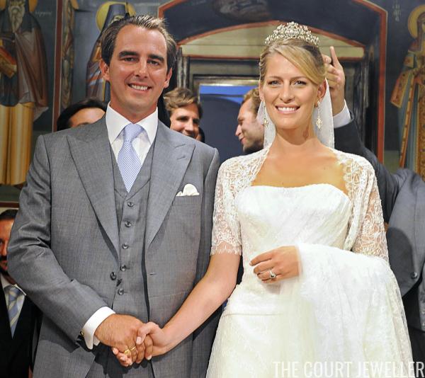 Earl Of Ulster Wedding: Royal Jewel Rewind: Nikolaos And Tatiana's Greek Wedding