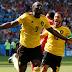 Half-time score: Belgium 3 – 1 Tunisia #worldCup