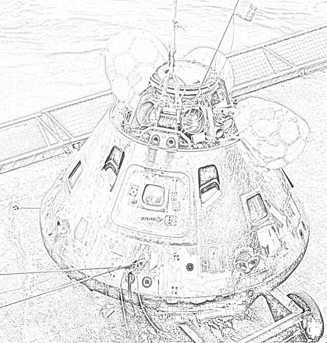 Coloring Pages Nasa Rockets Coloring Pages