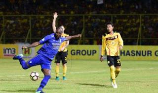 Skor Akhir Barito Putera vs Persib Bandung 1-0