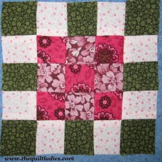 Simple Nine Patch Quilt Pattern