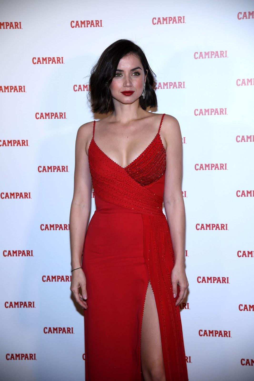 Ana de Armas at Campari Red Diaries 2019 Premiere Event in ...